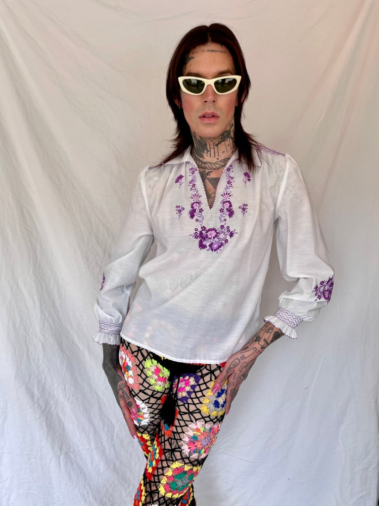 Image of New Age Peasant Top