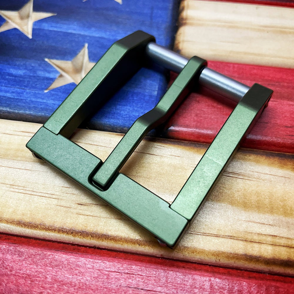 Image of Blackside Customs OD Green Modular Buckle