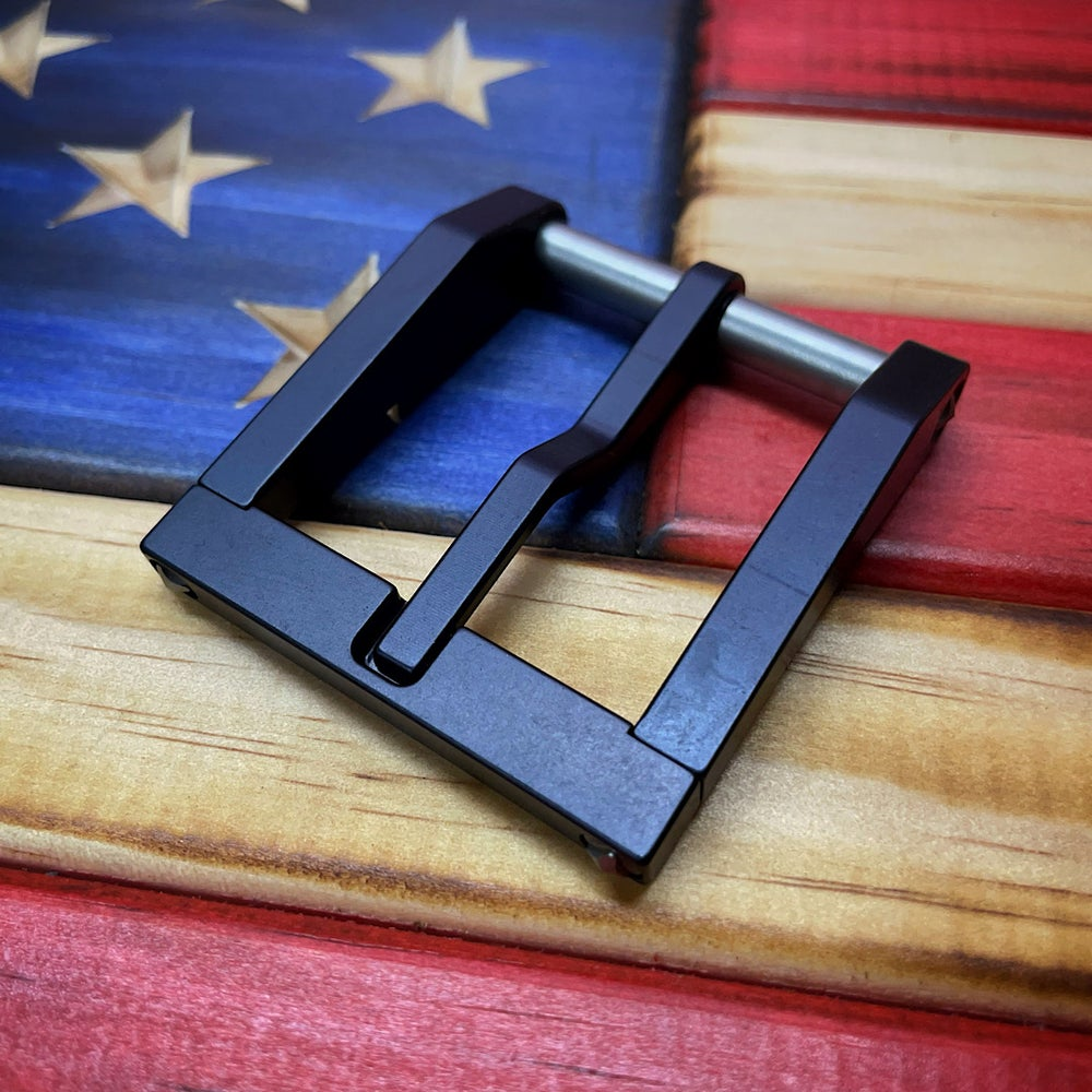 Image of Blackside Customs Black Modular Buckle