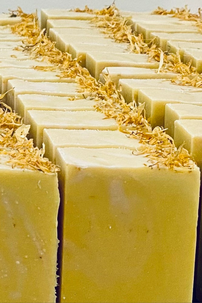 Image of Grapefruit Mint Goat Milk Soap with Kaolin Clay