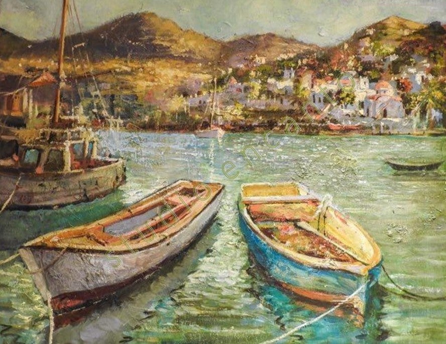 Image of Good Morning Mikonos by Violetta Chandler
