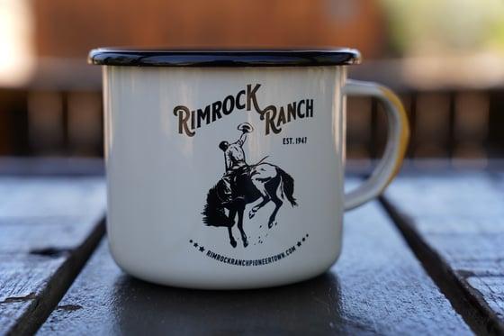 Image of Enameled Camp Mug - Cream