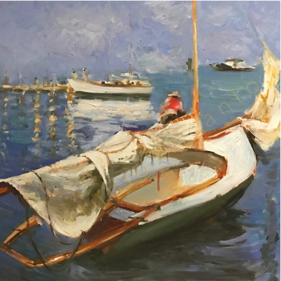 Image of Annapolis Ready to Sail by Violetta Chandler