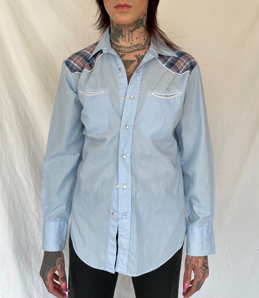 Image of Powder Blues Western Shirt