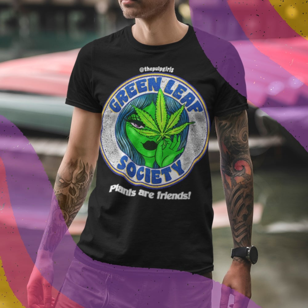 Image of GREEN LEAF SOCIETY TEE