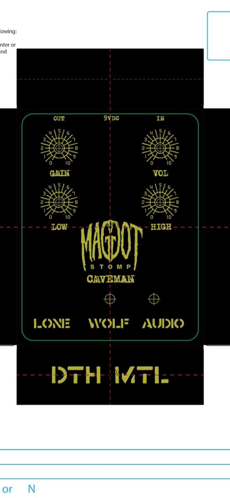 Image of LWA X Maggot Stomp Caveman pre sale