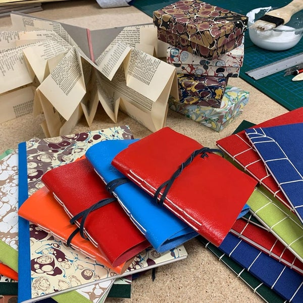 Image of Introduction to Bookbinding - Intensive class - 18th December 2021