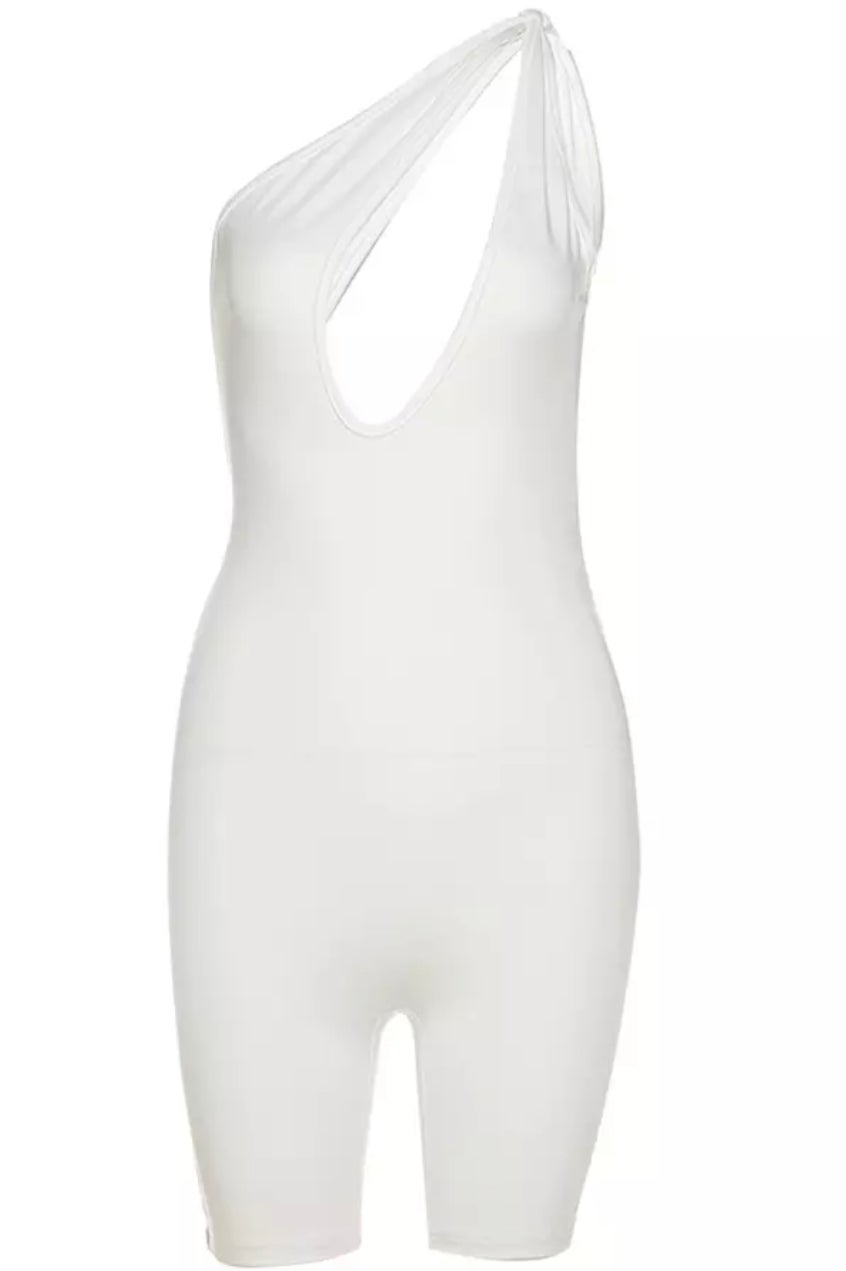 Image of Take Me Out White | Jumpsuit