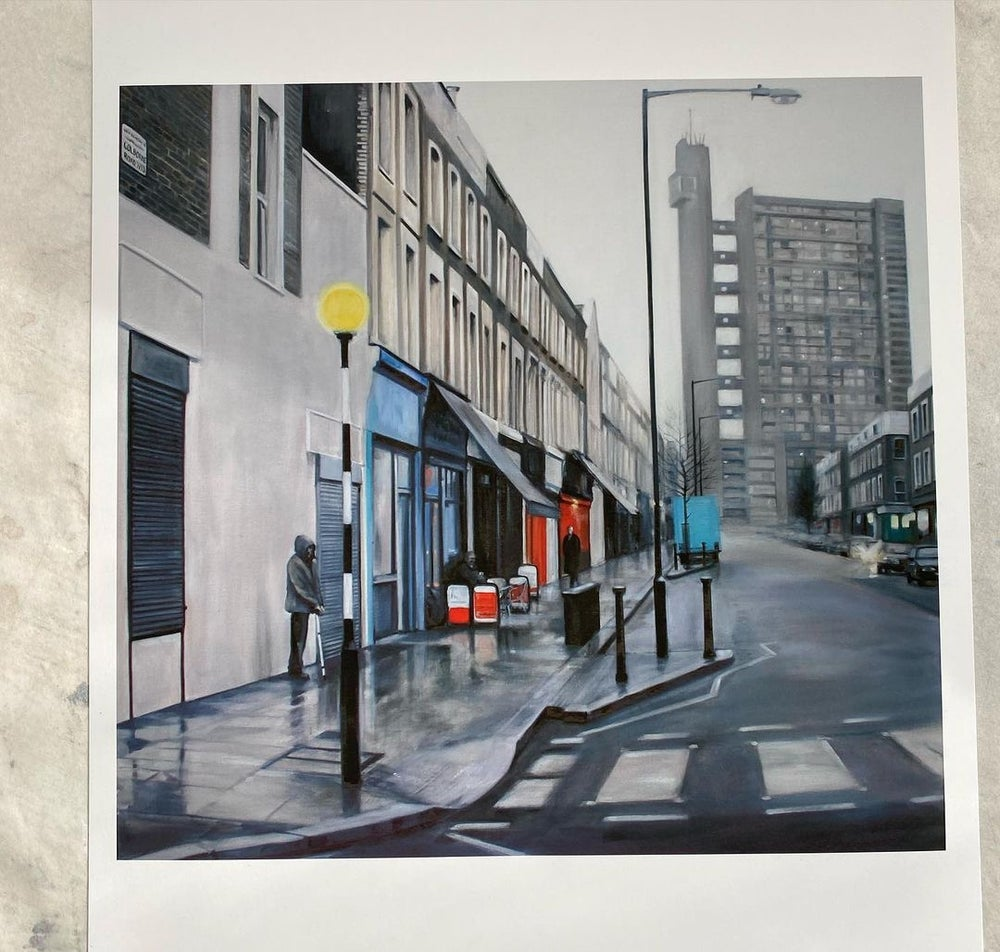 Image of Trellick Tower (A3 Print) Unframed