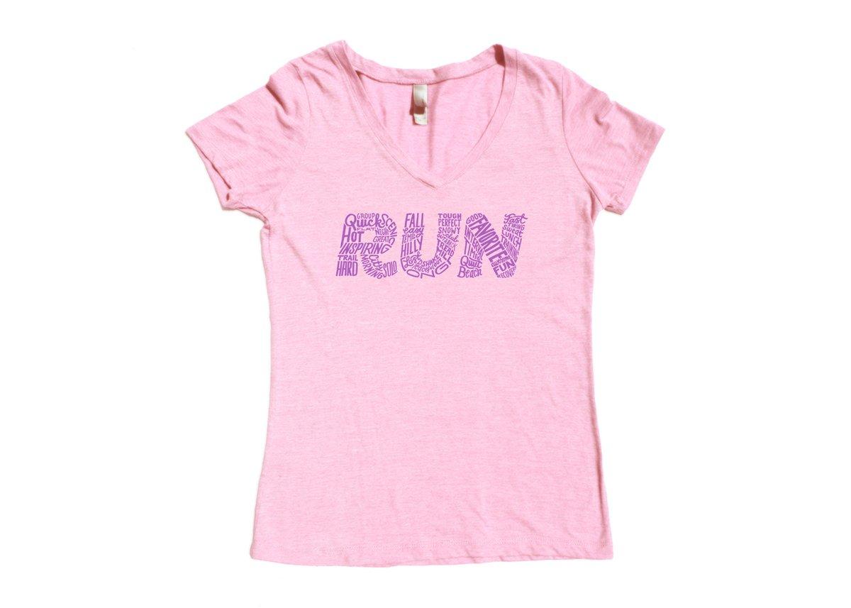 Image of Every Run Tee (Women's V-Neck)