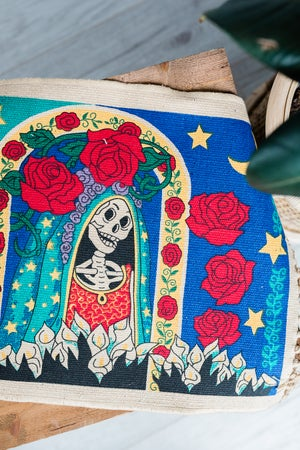 Image of Rose - Day Of The Dead Placemat