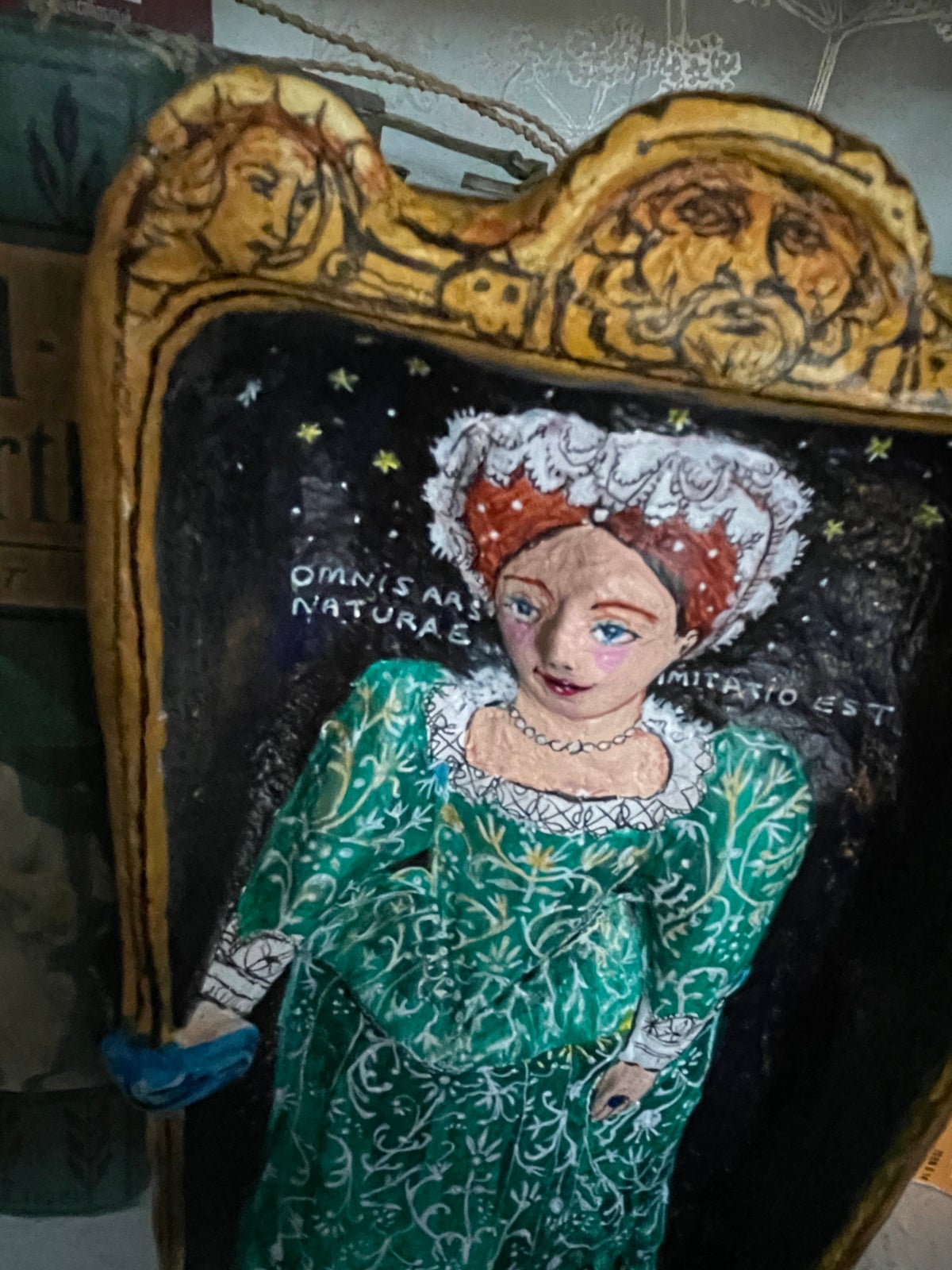 Image of The green dress