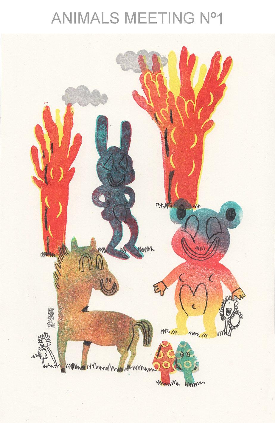 Image of ANIMALS MEETING