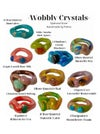 Wobbly Crystal Rings