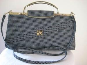 Image of Fabulous blue clutch/handbag