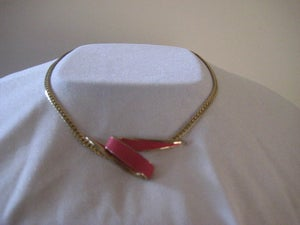 Image of Gorgeous 80's gold necklace