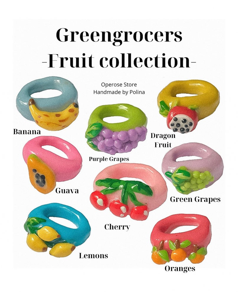 Image of Greengrocers Fruit Rings