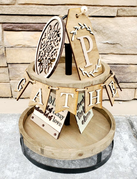 Image of Tiered Trays - Family