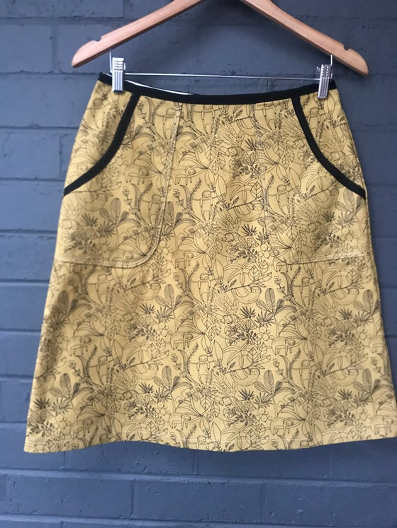 Image of KylieJane pocket skirt-mustard sloth