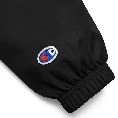 Image of AP EMBROIDERED CHAMPION PACKABLE JACKET