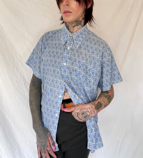 Image of 70's Spiral Button Down