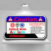 Autism Emergency Caution Decal