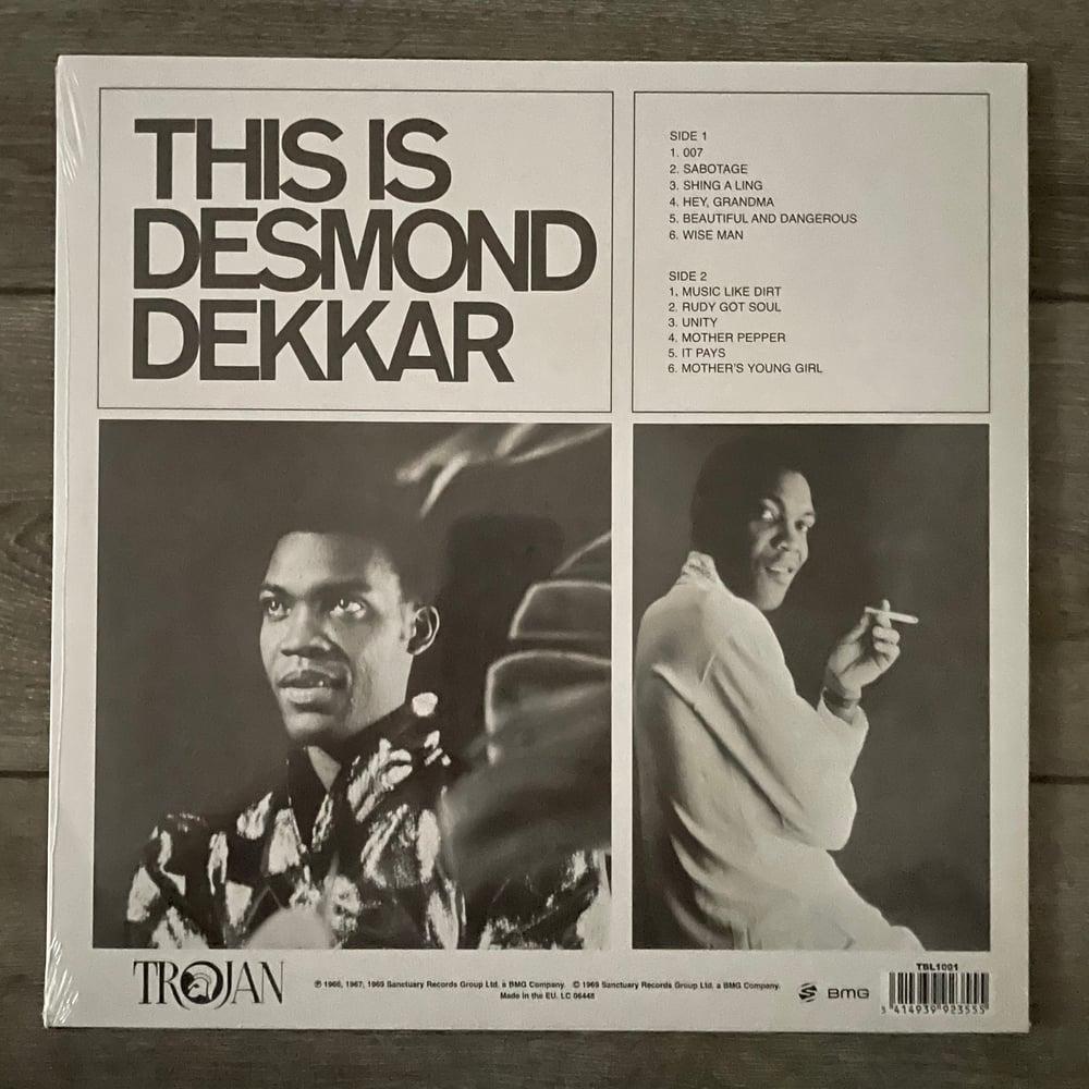 Image of Desmond Dekker - This Is Desmond Dekkar Vinyl LP