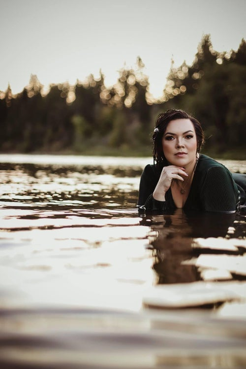 Image of Reserved for Ashley - couples river session