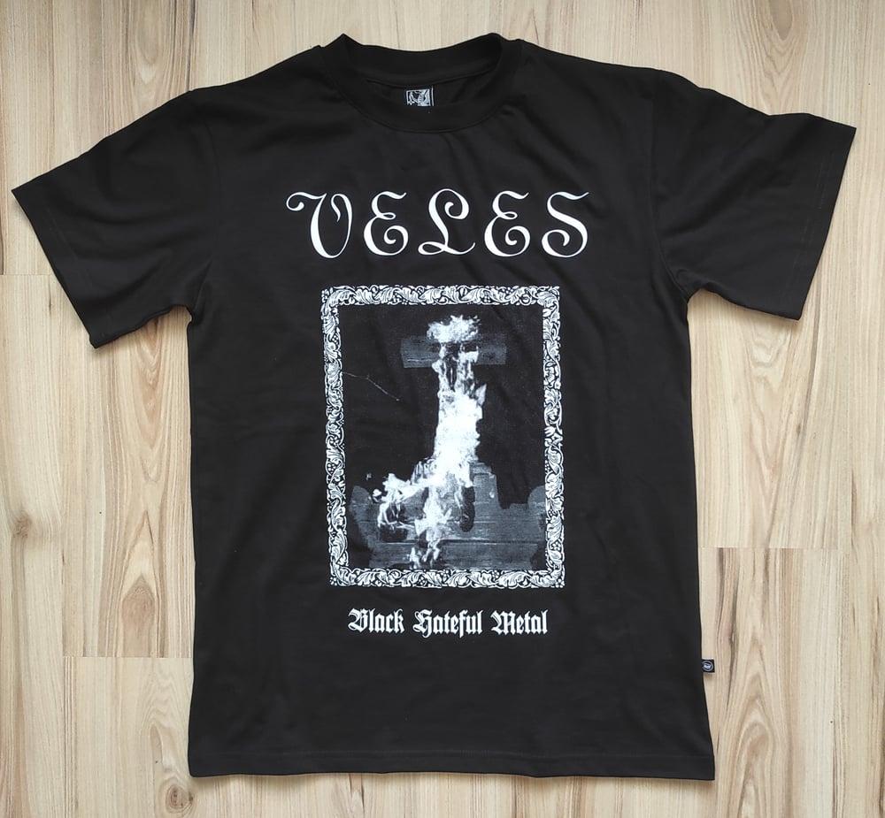 "Image of VELES ""Black Hateful Metal"" T-SHIRT"