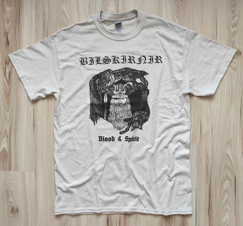 "Image of BILSKIRNIR ""Blood and Spirit"" T-SHIRT"