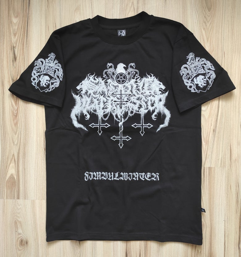 "Image of SATANIC WARMASTER ""Fimbulwinter"" T-SHIRT"