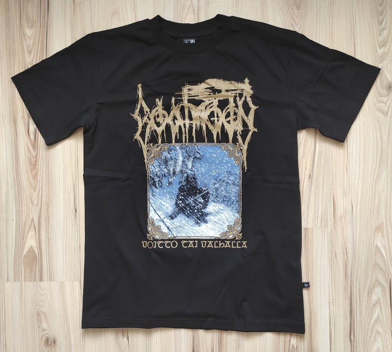 "Image of GOATMOON ""Voitto Tai Valhalla"" T-SHIRT"