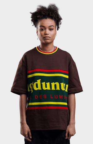 Image of T-shirt Drapeau - Marron