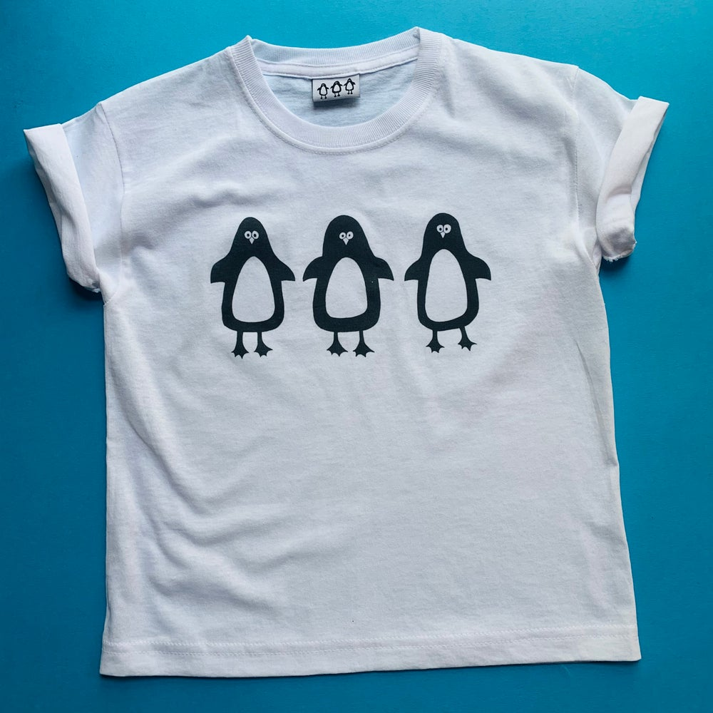 Image of Penguin kid's t shirt
