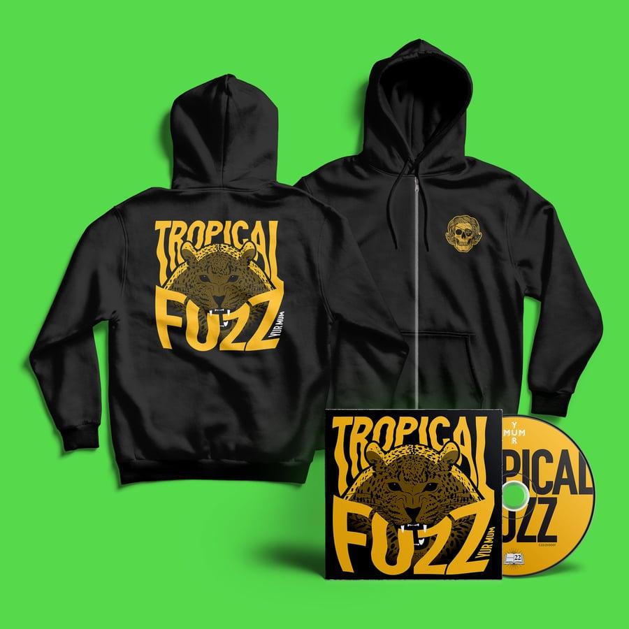 Image of YUR MUM - TROPICAL FUZZ CD & HOODIE
