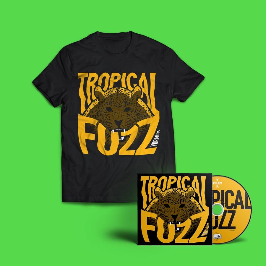 Image of YUR MUM - TROPICAL FUZZ CD & T SHIRT