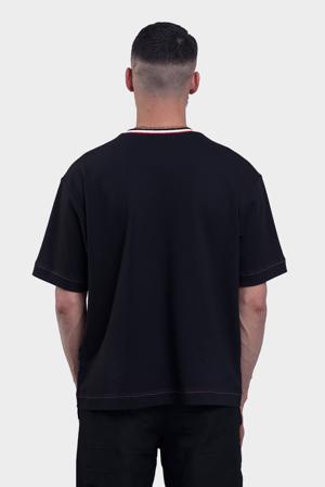 Image of T-shirt Drapeau - Noir