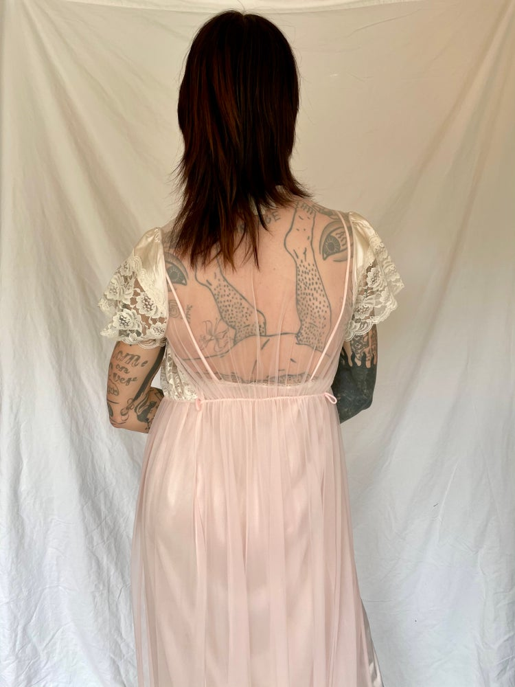 Image of Nightgown with Duster Jacket