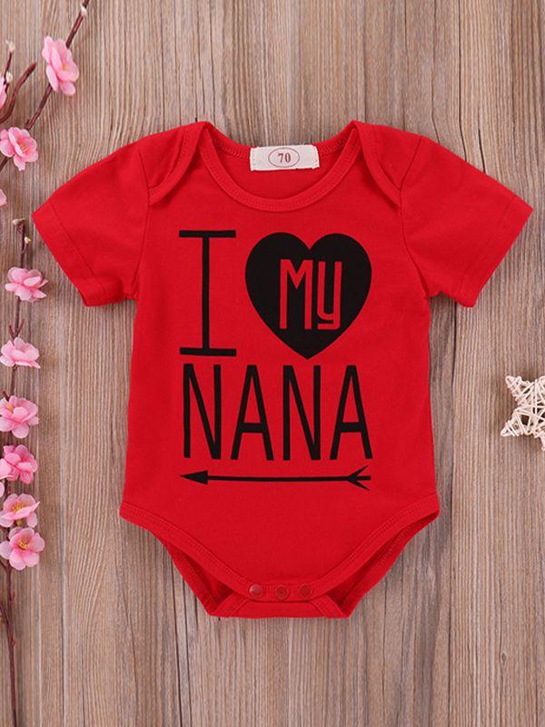I Love My Nana Onesie