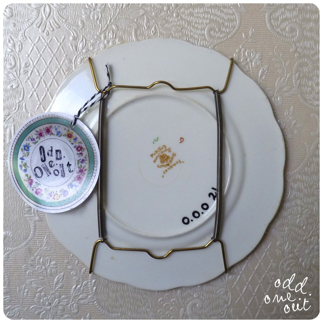 Image of Hooker 4 Life - Hand Painted Vintage Plate