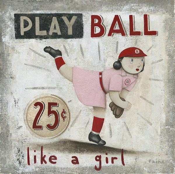 Image of Play Ball Like A Girl
