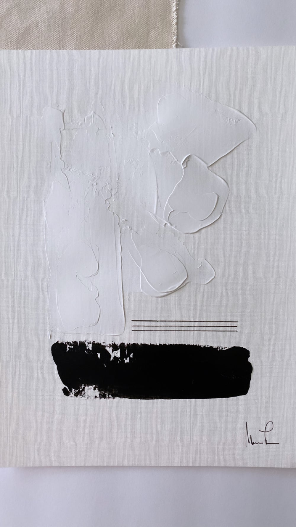 Image of Black & White Edition on Acrylic Paper (3)