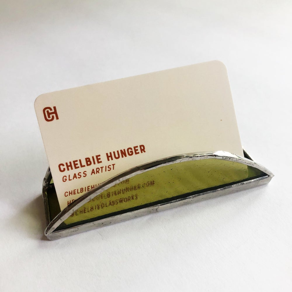 Image of Moss Green Cardholder