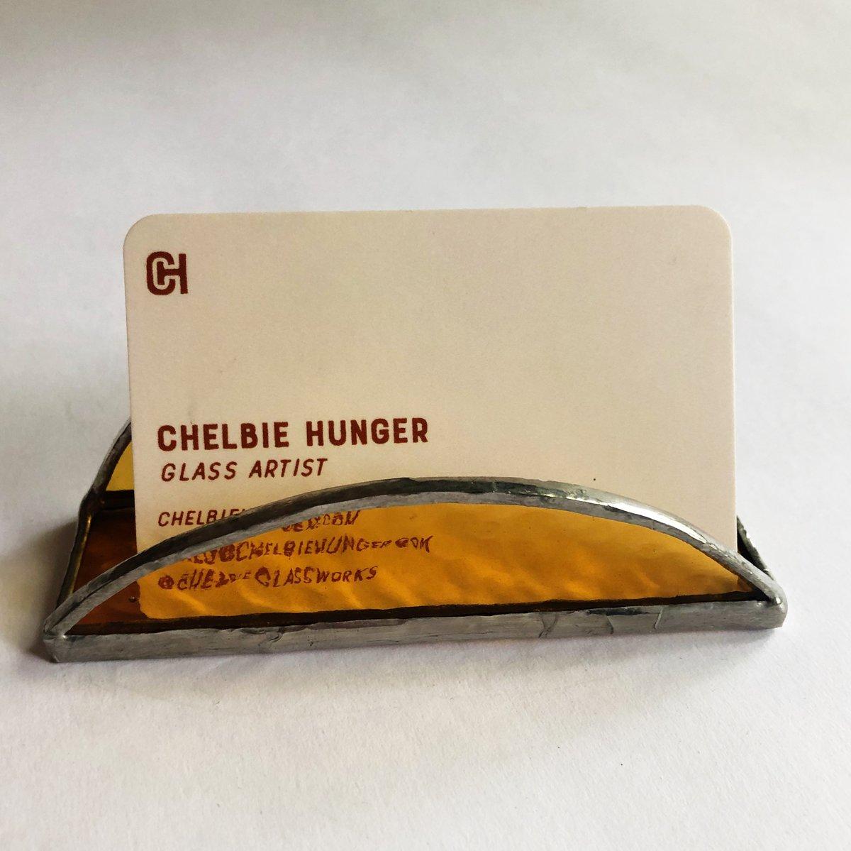 Image of Light Amber (yellow) Cardholder