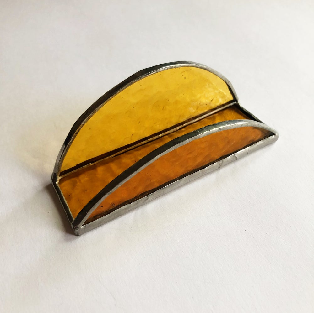 Image of Light Amber (yellow) Cardholder