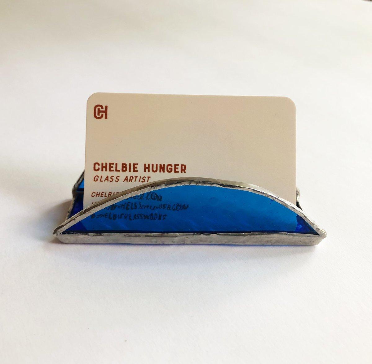 Image of Cobalt Blue Cardholder