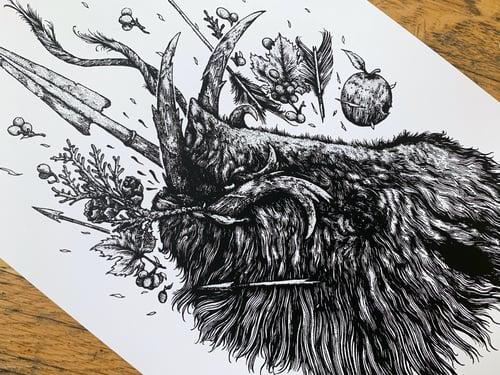 """Image of Die Jagd - The Hunt (8.5x14"""")"""