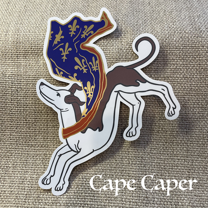 Image of Gilded Hound Stickers