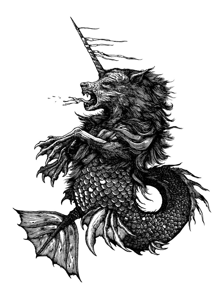 "Image of Narwolf (9x12"")"