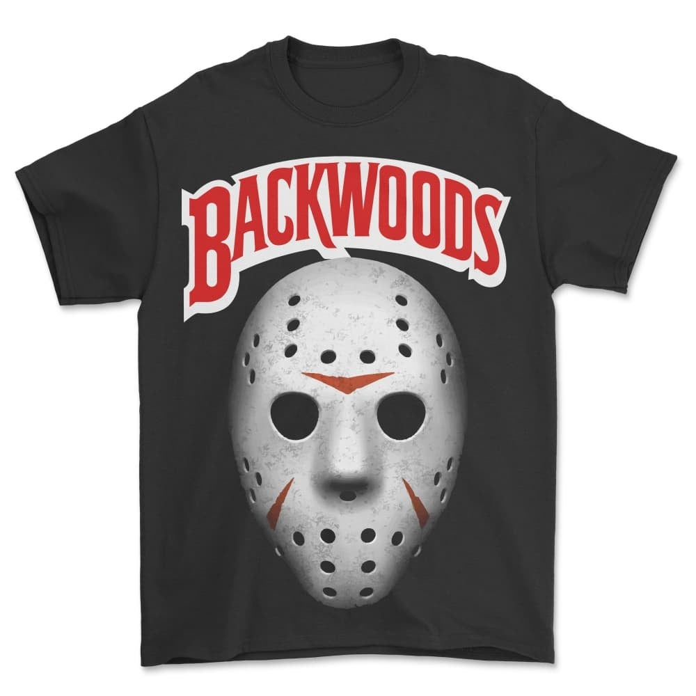 Image of BCKWDS JASON MASK T SHIRT (IN STOCK)